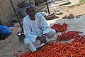 A Nigerian Tomatoes seller on the roadside in Ilorin5.jpg