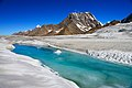A glacial stream on Hispar glacier, 49km.jpg