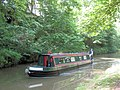 A passing narrowboat is going home on the Grand Union Canal - geograph.org.uk - 1340278.jpg