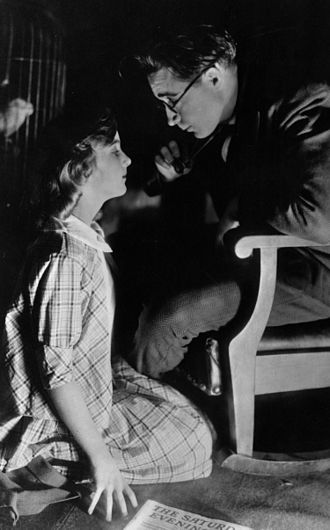 Carole Lombard - At age 12, Lombard had a small role in the film A Perfect Crime (1921). Here with Monte Blue.