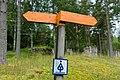 A sign of Upplansleden, Sweden 18.jpg