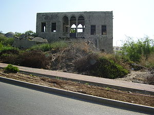 Al-Bassa - Image: Abandoned Arab house in Bassa