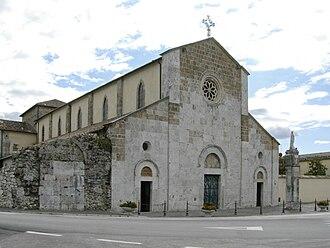 Sora, Lazio - St. Dominic Abbey.