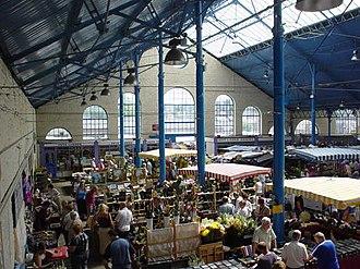 Abergavenny - Abergavenny Market Hall in 2009