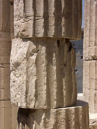 Acropolis - column of the Propylaea.jpg