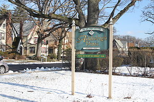 St. Albans, Queens - Welcome sign