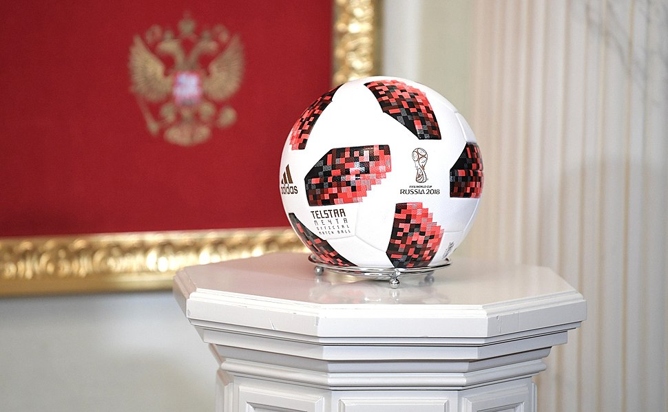 Adidas Telstar Mechta Ball On the Handover Ceremony of the 2022 FIFA World Cup host mantle