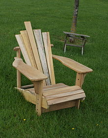 adirondack gartensessel wikipedia. Black Bedroom Furniture Sets. Home Design Ideas