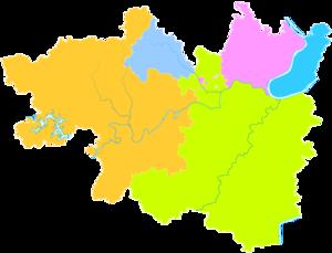 Xiangtan - Image: Administrative Division Xiangtan