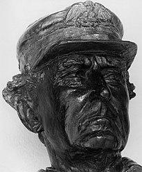Скульптура из бронзового бюста Дэвида Глазго Фаррагута