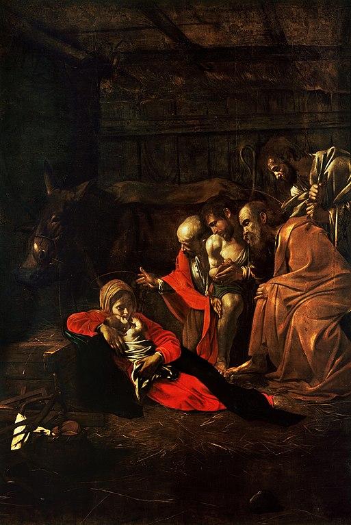 Bildergebnis für michelangelo merisi da caravaggio adoration of the shepherds