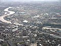 Aerial view of Tyne bridges and river Tyne. - geograph.org.uk - 471330.jpg