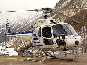 Eurocopter AS350 Écureuil - AS350 B2, Switzerland, 2006