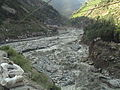 After flood a view of Dubair bazar District Kohistan.jpg
