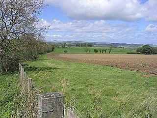 Abberwick Hamlet in Northumberland, England