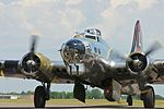 """AirExpo 2010 - B-17 Flying Fortress """"Yankee Lady"""" (4824019153).jpg"""