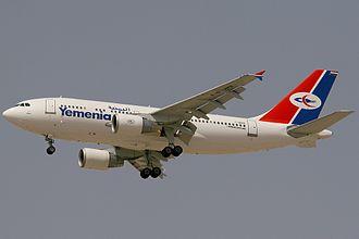 Yemenia - Image: Airbus A310 325, Yemenia Yemen Airways AN1203492