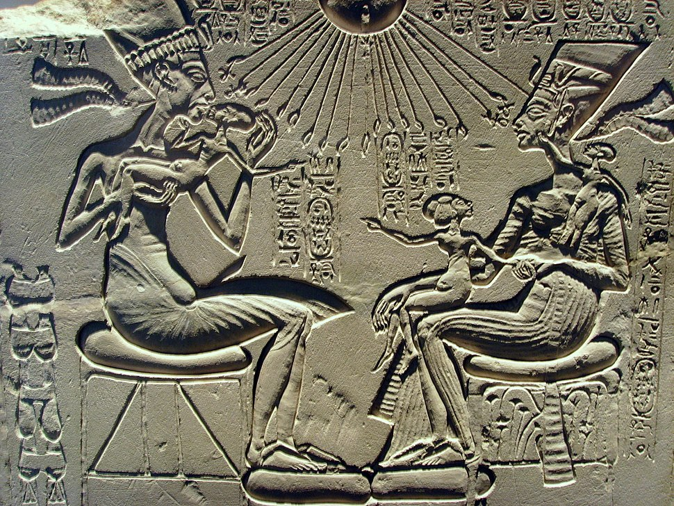 Akhenaten, Nefertiti and their children