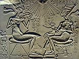 Akhenaten, Nefertiti and their children.jpg
