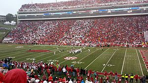 2014 Arkansas Razorbacks football team - An early Crimson Tide drive
