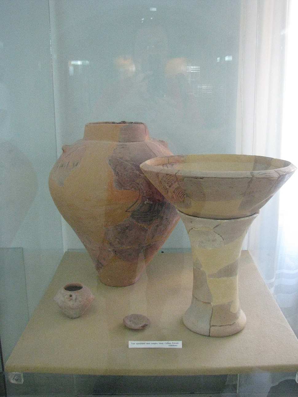 Alba Iulia National Museum of the Union 2011 - Petresti Culture Pottery Belonging to a Ritual Complex from Ghirbom