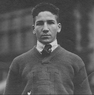 A. D. Kirwan - Kirwan in 1921 as captain of his high school football team
