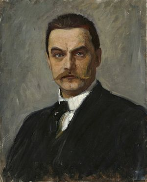 Albert Edelfelt - Self portrait (ca. 1887–90)