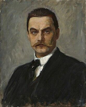 Albert Edelfelt - Self portrait (ca. 1887–90)
