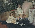 Albert Edelfelt - The Grand Dukes Boris and Kirill Vladimirovich as Children (1881).jpg