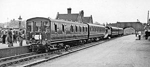 Aldridge railway station - Aldridge station, 1951