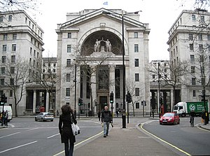 BBC World Service - Bush House in London was home to the World Service between 1941 and 2012.