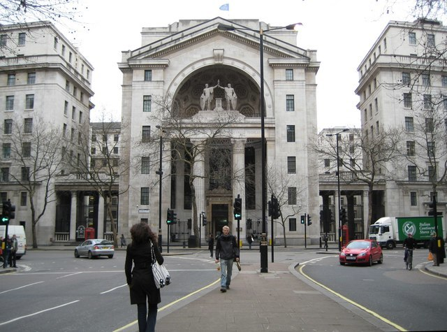 Aldwych, Bush House, WC2 - geograph.org.uk - 668798