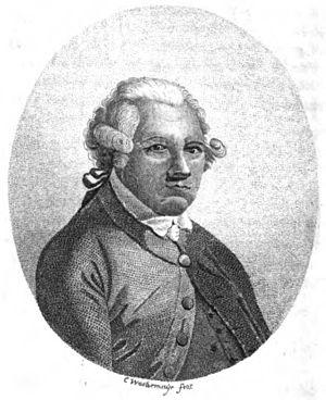 Alexander Dalrymple - Alexander Dalrymple, engraving by Conrad Westermayr.
