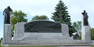 Bell Memorial - Image: Alexander Graham Bell Brantford Monument 0.98