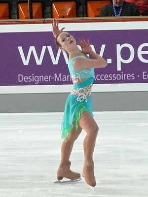 Alexandra Ievleva - Ievleva in 2008.