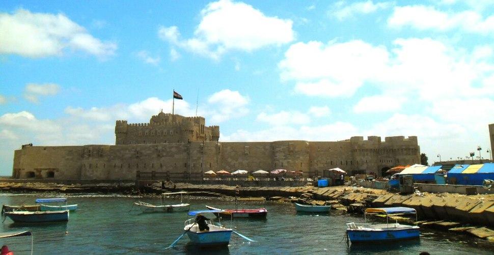 Alexandria fortress Qaitbay