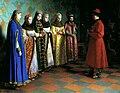 Alexis I's bride-show by G.Sedov (1882, GTG).jpg