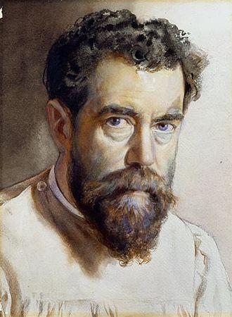 Alfredo Roque Gameiro - Self-portrait (1910s)