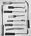 Algerian dental and ophthalmic instruments Wellcome M0005292.jpg