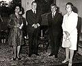 Alicia Pietri de Caldera, Rafael Caldera, Nicolae Ceaușescu y Elena Ceaușescu.jpg
