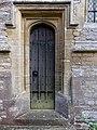 All Saints Church, Middle Claydon, Bucks, England - nave north door.jpg