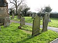 All Saints church - churchyard - geograph.org.uk - 1692091.jpg