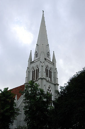 Hultsdorf - The colonial era All Saints Church in Dam Street, Hultsdorf