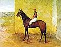 Almeida Júnior - Jóquei e Cavalo, 1895.jpg