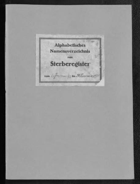 File:Alphabetisches Namensverzeichnis zum Sterberegister des Standesamtes Minden, 1930.djvu