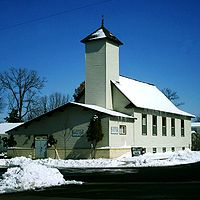 Islamic Society of Northern Wisconsin Mosque in Altoona, Wisconsin.