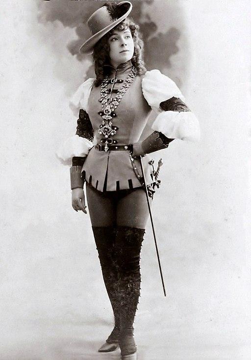 Amélie Diéterle au théâtre (1900) dans « Les Brigands » (C)