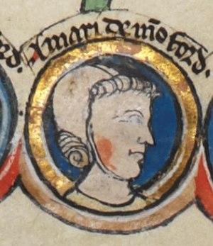 Amaury de Montfort, Canon of York - Image: Amaury Montfort