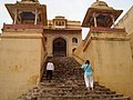 Amber Fort - Steps to Singh Pol.jpg