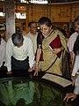 Ambika Soni Visiting Dynamotion Hall - Science City - Kolkata 2006-07-04 04797.JPG